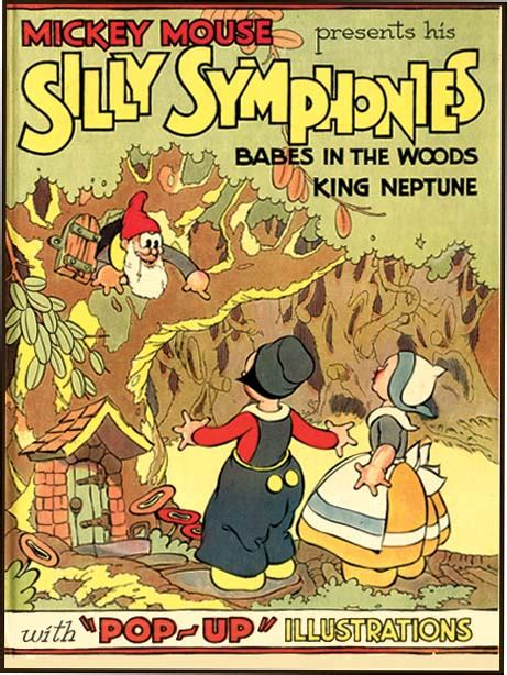 POP-UP SILLY SYMPHONIES CONTAINING BABES IN THE WOODS AND
