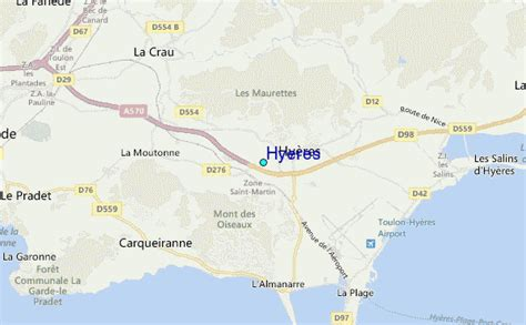 Hyeres Tide Station Location Guide