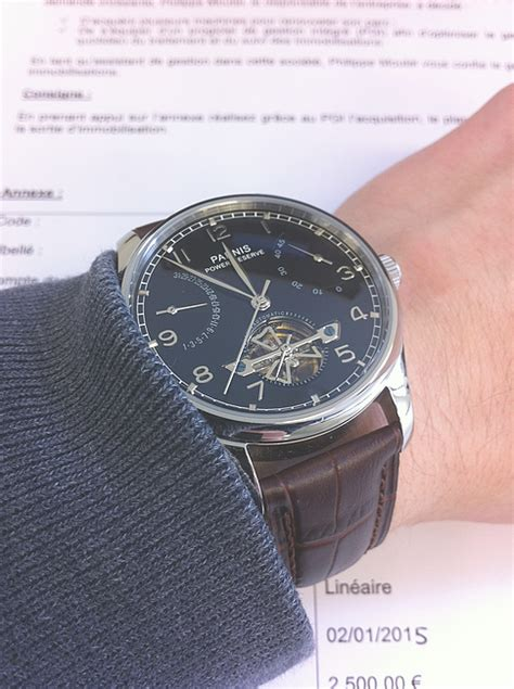 montre fossil homme tom hope