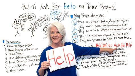 How to Ask for Help on Your Projects - ProjectManager