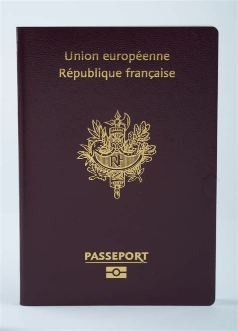 French passport front cover - Datacard Group