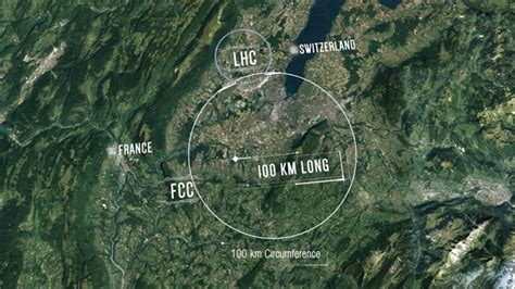 CERN to Look for New Physics, Dark Matter with New 100km