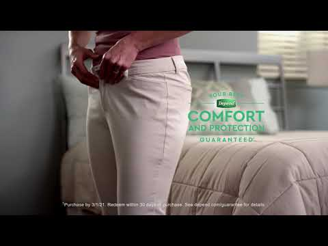 Depend® Real Fit® Briefs for Men - YouTube