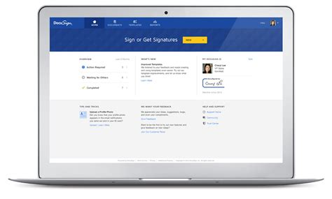 New DocuSign Experience for Streamlined Signing   DocuSign