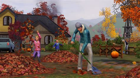 The Sims 3: Seasons - Why fall is the best time of the