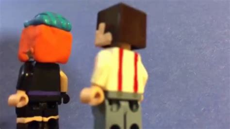 LEGO Minecraft story mode Petra stop motion (read