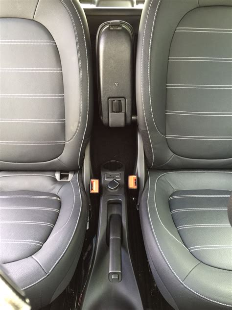 Armrest Leather Smart Fortwo Forfour 453 Since 2014 with