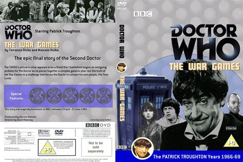 """Doctor Who """"The War Games"""" DVD cover 