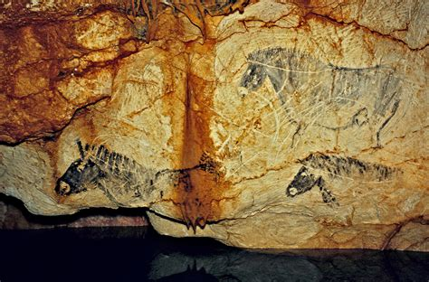 The Cave Paintings of the Cosquer Cave in France