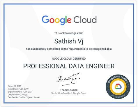 Notes from my Google Cloud Professional Data Engineer Exam