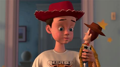 """Andy Andrew Davis, personnage dans """"Toy Story"""""""